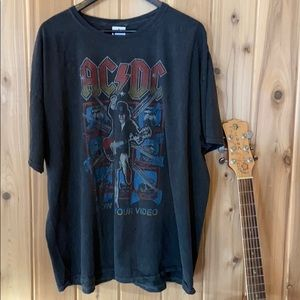 Urban Outfitters Dresses - AC/DC distressed t-shirt dress